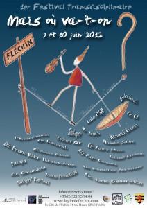 Affiche Festival Mais où va-t-on 2012 image