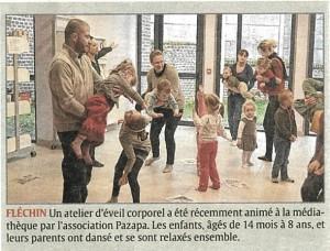 Parentalité - Echo de la Lys - 5 nov 2015