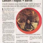 l'hapax Bärlin- Echo de la Lys 5 mars 2015