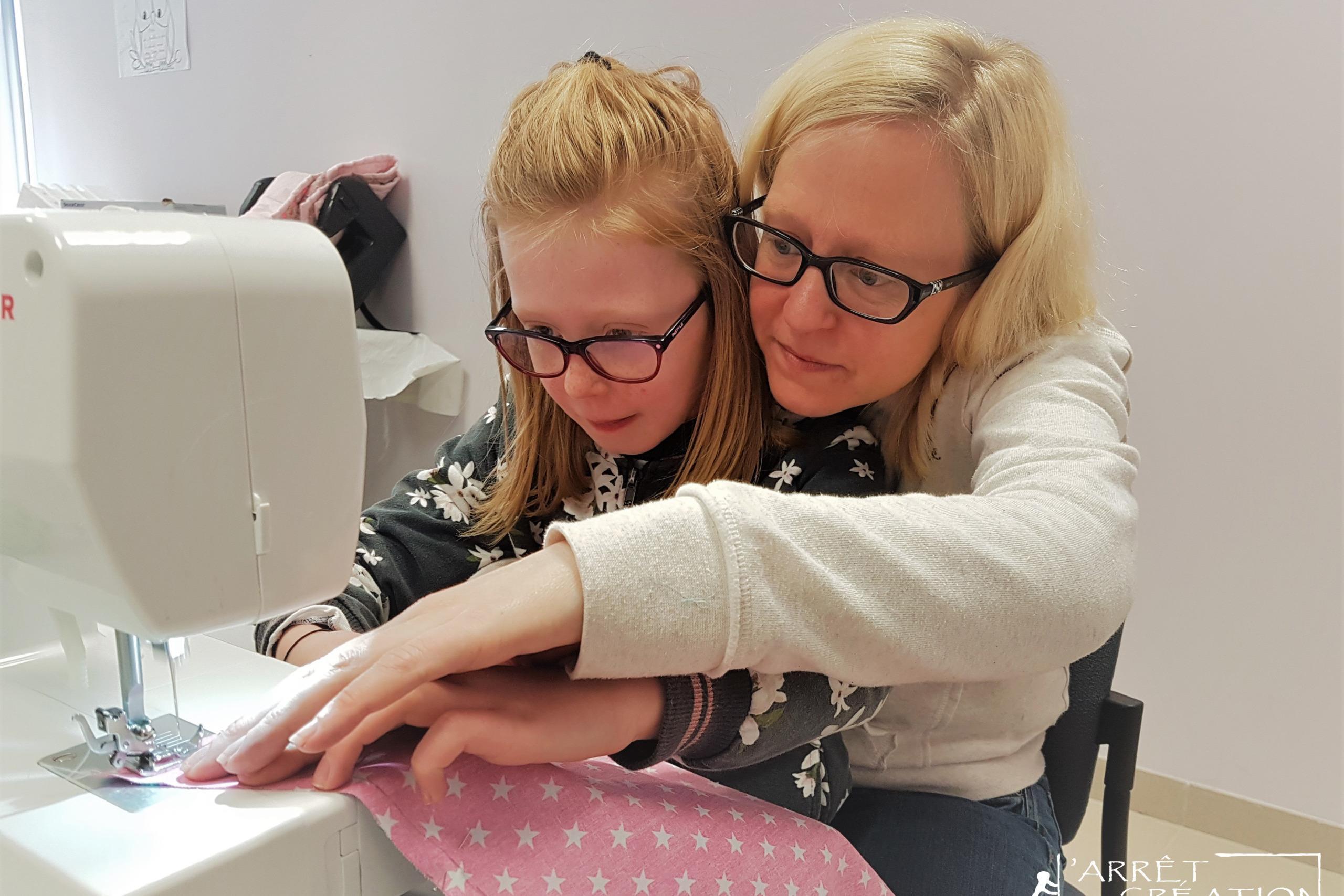 ateliers couture parent-enfant